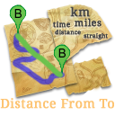 Logo Distance From To Home
